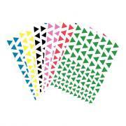Gommettes triangulaires - Pochette de 816