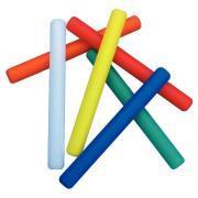 Bâtons de relais en PVC - Longueur 30 cm - Lot de 4
