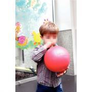 Ballon Soft Play bleu - Diamètre 45 cm