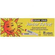 Pastels à l'huile Junior Artist - Boîte de 25