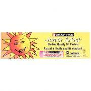 Pastels à l'huile Junior Artist extra large - Boîte de 12