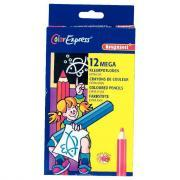 Crayons de couleur gros module - Etui de 12