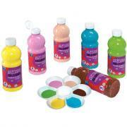 Peinture acrylique brillante Color and Co Glossy - Carton 6 flacons de 500ml