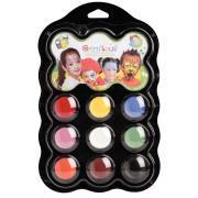 Palette de maquillage à l'eau grim'tout carnaval