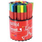 Feutres coloriage pm colourbroad assorti - Pot de 42