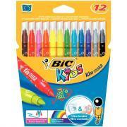 Feutres coloriage kid couleur - Lot de 25 pochettes de 12 + 2 kdo