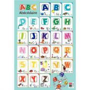 Poster pédagogique en PVC - 76x52 cm - L'alphabet