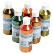 Encre à dessiner Duocolor - Lot de 6 flacons de 250ml