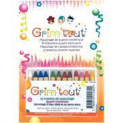 Crayons de maquillage lavables - Boîte de 12