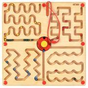 Labyrinthe magnétique - Lignes graphiques