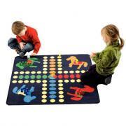 Set 4 tapis jeux - 100x100 cm + Accessoires