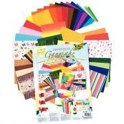 Set atelier papiers déco - 322 pièces