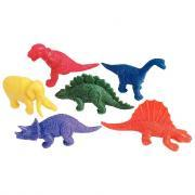 Dinosaures en caoutchouc - Baril de 108