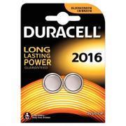 Piles lithium 3V CR2016 Duracell Electronics - Blister de 2