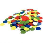Jetons en plastique - Sachet de 1 000