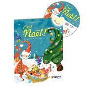 C'est Noël ! - Préparons Noël en chantant - Livret + CD