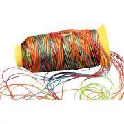 Fil nylon multicolore - Bobine de 230m