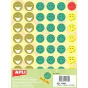 Agipa - Gommettes SMILEY - Pochette de 576