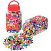 Perles HAMA de taille maxi - Pot de 2300