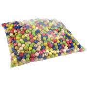 Perles en bois multicolores. Diamètre 10mm - Sachet de 1000