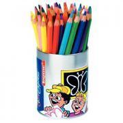 Crayons de couleur gros module - Pot de 48