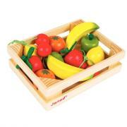 Fruits en bois - Cagette de 12