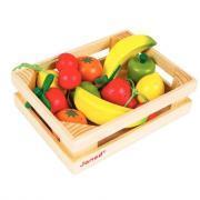 Fruits en bois - Cagette de 12