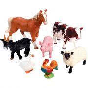 Jumbo animaux de la ferme - Lot de 7