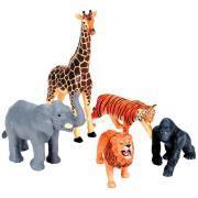 Jumbo animaux de la jungle - Lot de 5