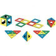 Polydron magnétique - 32 pièces