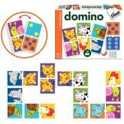 Domino double Animaux/Points