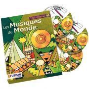 Les musiques du monde - Coffret de 3 CD