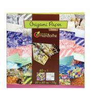 Avenue mandarine - Papier Origami Urban - Pochette de 60