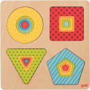 Encastrement 4 niveaux, les formes géométriques