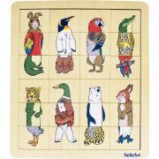 Encastrement interchangeable - Le règne animal - 8 puzzles