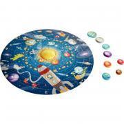 Puzzle rond le système solaire, 102 pièces