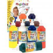 Carton de 10 flacons de peinture 500ml MAGIC PAINT