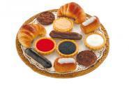 Pâtisserie en plastique - Sachet de 12