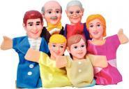 LOT 6 MARIONNETTES MAIN FAMILLE