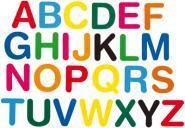 Gommettes Lettres - Pochette de 150