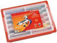 Crayons de couleur Trio - Schoolpack de 96