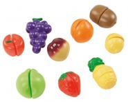 Fruits � d�couper en plastique - Set de 9