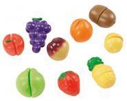 Fruits � d�couper en plastique - Set de 9