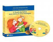 L'�veil du b�b� aux sons et � la musique - Livre + CD