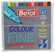 Feutres coloriage pf Berol - Pochette de 12