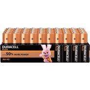 Paquet 40 piles 1.5v Plus Power LR06 DURACELL
