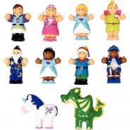 Set de 10 figurines de contes de fée