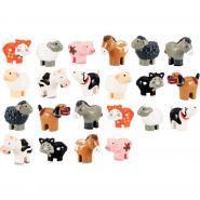 Set de 22 animaux