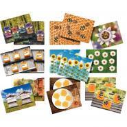 Paquet de 16 cartes plastifiées pour 04250