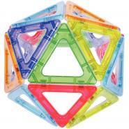 Set de 36 pcs MEGAMAG POLYDRON cristal